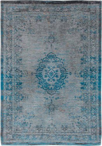 tapis Louis De Poortere LX8255 Fading World Medaillon Grey Turquoise