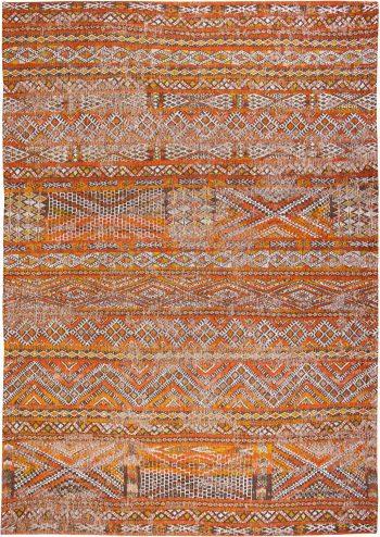 Louis De Poortere tapis LX 9111 Antiquarian Kilim Riad Orange