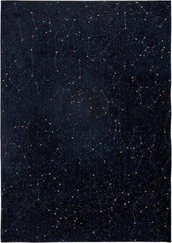 Louis De Poortere tapis Fischbacher 9059 Celestial Night Sky