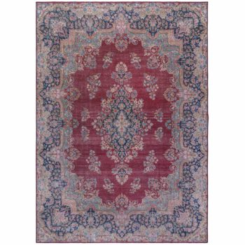 Anversa Tapis Fold Colby Red 3